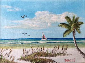 "Private Collection Of: Tabitha Hughes & Chip Dobson ""Sailing Siesta Key"" #138416 $40 5x7"