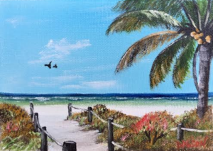 "Private Collection Of: Victoria Martin Clarksville, Tennessee ""On Siesta Key"" #138616 $40 5x7"