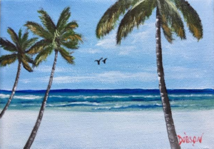 "Private Collection Of: Jim & Karen Arruda Lakenona, Florida ""Siesta Key"" #139116 $60 5x7"
