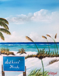 "Private Collection Of: Donna & Marcus Conyer Siesta Key, Florida ""Authors' Nook"" #143816 $95 8x10"