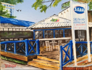 "Private Collection Of: Gary & Michelle Budzik Cleveland, Ohio ""S.K.O.B. On Siesta Key"" #144216 - $130 8x10 #144216"