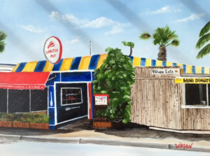 "Private Collection Of: Yvonne & Nick Hetman Owensboro, Kentucky ""Lobster Pot On Siesta Key"" #144616 $290 18x24"
