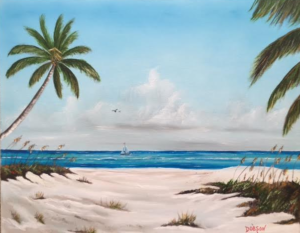 "Private Collection Of: Tammy Smith Sarasota, Florida ""Siesta Key Beach"" #147516 $250 16x20"