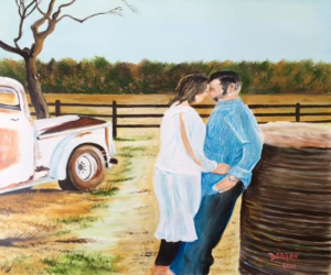 "Private Collection Of: Chip & Tabitha Dobson Lakewood Ranch, Florida ""Mr & Mrs Dobson - 05-13-2017"" 20"" x 30"""
