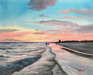 "Private Collection Of: Yvonne & Nick Hetman Owensboro, Kentucky ""Why We Love Siesta Key"" #156117 $95 16x20"