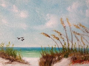 "Private Collection Of: Missy & Jay Virgin Oldtown, Kentucky ""Siesta Key & Sea Gulls"""