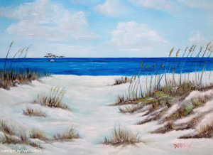 Art_-_#18914_-_Dunes_&_Sea_Oats_-_16x20_-_Copyright