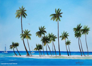 Private Collection Of: Keith McNulty Marietta, Georgia Peninsula Paradise 16x20 - $250