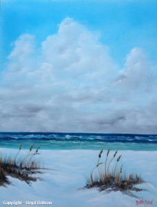 "Private Collection Of: Thomas Mirabito Littleton, Colorado ""Perfect Day On The Beach"" #19314 - 16x20"