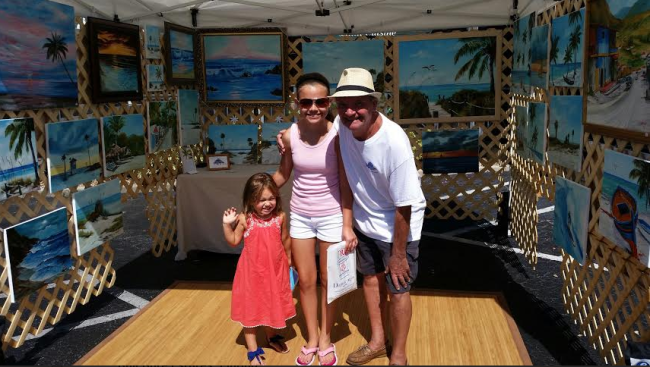 Art_-_Tessa_&_Tiffany_At_The_Siesta_Key_Farmers_Market_-_08-03-2014_