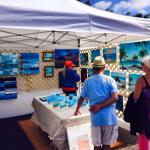 Lloyd Dobson Artist Siesta Key Farmers Market Every Sunday 8am to 2pm