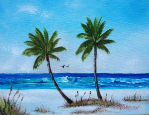 A Gulf Paradise #115714 BUY $75 8x10 - Free Shipping lower USA 48 & Canada