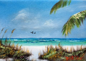 Private Collection Of: Jane Ritchey Darien, Conn At Siesta Key #120315 - $40 5x7