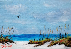 Dunes & Sea Oats #122315 BUY $40.00 5x7 - FREE Shipping Lower US 48 & Canada