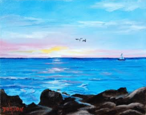 Sunset On The Key #127915 BUY $75 8x10 - FREE Shipping Lower US 48 & Canada