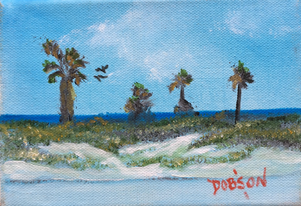 """""""Gulf of Mexico"""" #13714 - BUY - $60 5"""" x 7"""" - FREE shipping lower US 48 & canada"""