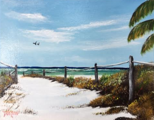 """It's Beach Time"" #137516 BUY $95 8x10 - Free Shipping Lower US 48 & Canada"