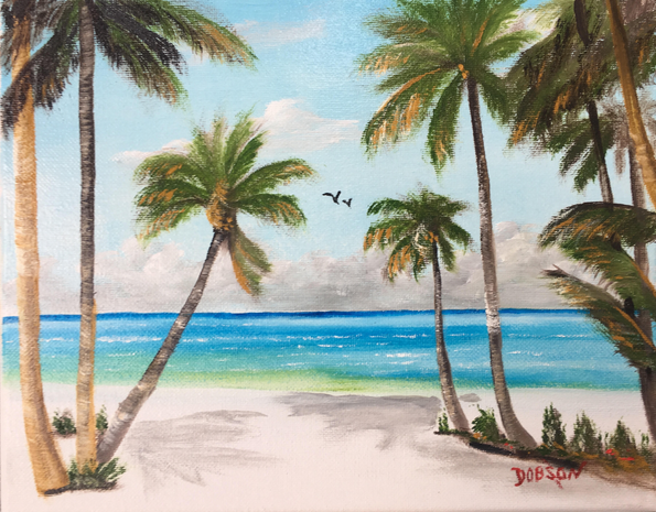 """""""My Happy Place"""" #150817 BUY $95 8x10 - FREE shipping lower US 48 & Canada"""