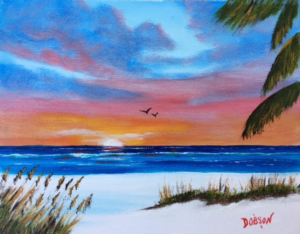 """Siesta Key"" #150917 BUY $95 8x10 - FREE shipping lower US 48 & Canada"