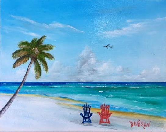 """""""Our Spot"""" #151117 BUY $95 8x10 - FREE shipping lower US 48 & Canada"""