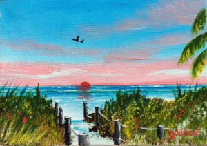 """Siesta Key"" #151417 BUY $60 5x7 - FREE shipping lower US 48 & Canada"