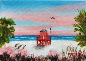 """Paradise"" #151517 BUY $60 5x7 - FREE shipping lower US 48 & Canada"