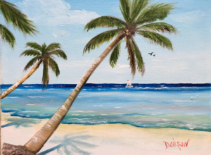 """Siesta Key Beach"" #156917  BUY  $95 8""h x 10""w - FREE shipping lower US 48 & Canada"