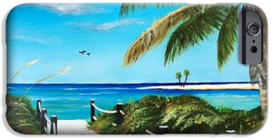 """Access To The Beach"" Cell Phone Case - BUY"
