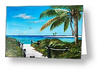 """Access To The Beach"" Greeting Card BUY"