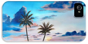 Another Paradise Sunset Cell Phone Case BUY