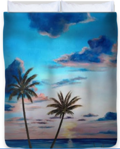 Another Paradise Sunset Duvet Cover BUY
