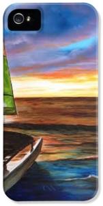 Catamaran On Siesta Key Cell Phone Case BUY