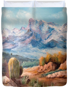 Colors Of The High Desert Duvet Cover BUY