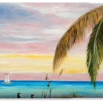 Colors of Siesta Key Cell Phone Case