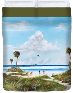 """In Paradise"" Duvet Cover BUY"