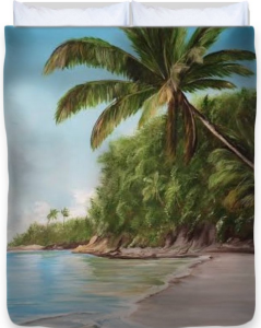 In Paradise Duvet Cover BUY