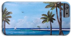 """""""Island Paradise"""" Cell Phone Case BUY"""
