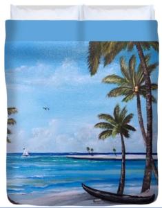 """Island Paradise"" Duvet Cover BUY"