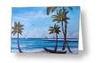 """Island Paradise"" Greeting Card BUY"