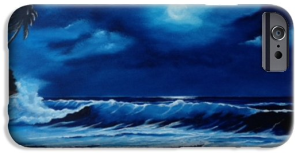 """""""Moon Light Night In Paradise"""" Cell Phone Case BUY"""