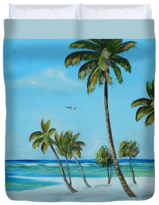 """My Paradise"" Duvet Cover BUY"