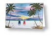 """Our Spot At Sunset"" Greeting Card BUY"