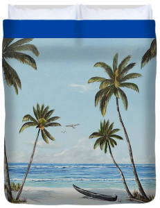 """Paradise Beach"" Duvet Cover BUY"