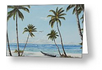 """Paradise Beach"" Greeting Card BUY"