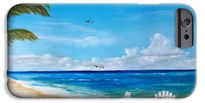 """""""Relaxing On The Beach"""" Cell Phone Case BUY"""
