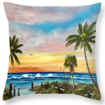 """Siesta Key At Sunset Pillow""   BUY"