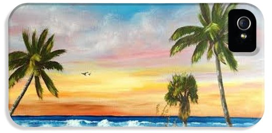 Siesta Key At Sunset Cell Phone Case