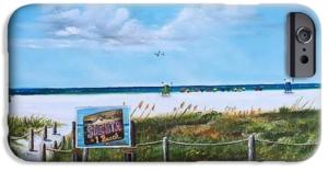 """Siesta Key Public Beach"" Cell Phone Case BUY"