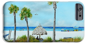 """Sirata Beach Resort Paradise Beach"" Cell Phone Case BUY"