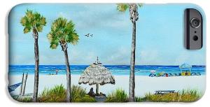 """Sirata Beach Resort Paradise Beach"" Cell Phone Case BUY"